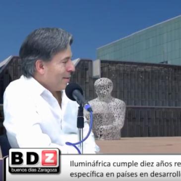 Entrevista al presidente de Ilumináfrica Enrique Minguez en Buenos Días Zaragoza