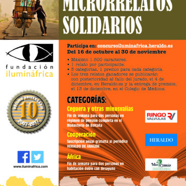 III Concurso Microrrelatos Solidarios Fundación Iluminafrica